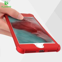 FLOVEME Shockproof Cases For iPhone 6 6S iPhone 7 6 Plus Case Luxury 360 Full Body Coverage Airbag Cases For iPhone 8 Plus Case