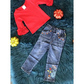 2018  Fall Firefly Girls Denim Jeans