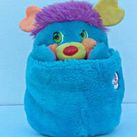 Popple PC Large size Plush Stuffed Animal 1985-1987 Vintage American Greetings
