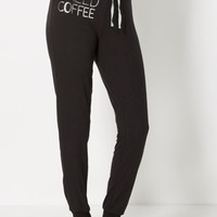 Brushed Need Coffee Sleep Pant | Pants | rue21