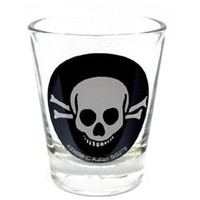 Skull and Cross Bones Shot Glass