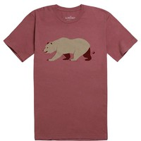Wellen Grizzly T-Shirt - Mens Tee - Red