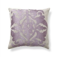 "Crest 18"" Pillow in Plum - Villa Home Collection 