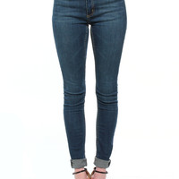 Cheap Monday Second Skin Jeans - Credit Blue
