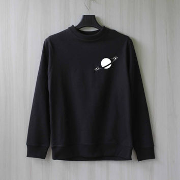 Saturn Ring Saturn Sweatshirt Sweater Shirt – Size XS S M L XL