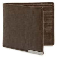 Men's Tod's Leather Wallet - Brown