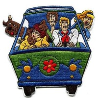 NEW Scooby Doo Mystery Machine IRON ON PATCH BUY 2 GET 1 FREE 4""
