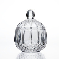StudioSilversmiths 43972 Medea Collection Crystal Candy Box