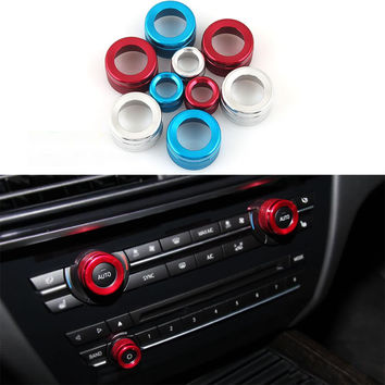 BMW Air Conditioning and Audio Knobs Decorative 3Pcs