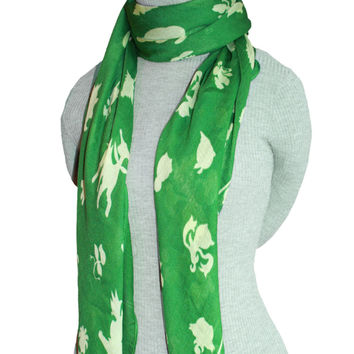 PKMN Grass Type Trainer Scarf