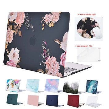 MOSISO Laptop Hard Case for Macbook Air Retina Pro 13 15 touch bar