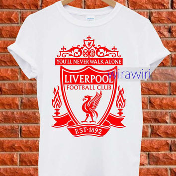 Liverpool F.c Red _ T-Shirt Women and Men Tank Top Women andd Men Design BY : wirawiri