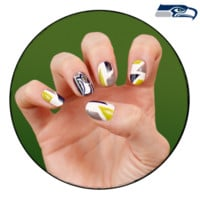 NFL Fanicure - Seattle Seahawks