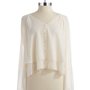 Bcbgeneration Double Layer Blouse