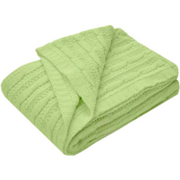 "Walmart: Heritage Club Cable Knit Blanket, 30"" x 40"""
