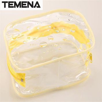 TEMENA necessaries Makeup organizer Toiletry bag for women men Travel kits make up Cosmetic Bags organizador BCB596