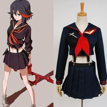 KILL La KILL Ryuko Ryuuko Matoi Cosplay Costume Senketsu Suit Outfit Uniform Hallween Carnival Costumes For Women Girls