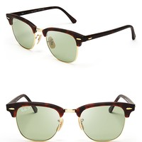 Ray-Ban Polarized Clubmaster Wayfarer Sunglasses