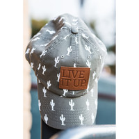 LIVE IT UP  khaki green oliver and otis cactus cap