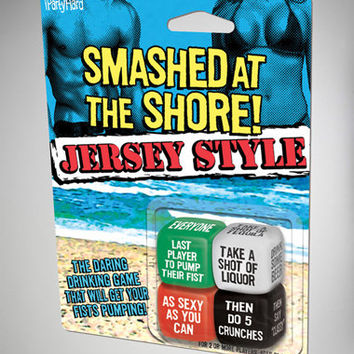 'Smashed at the Shore!' Dice Game