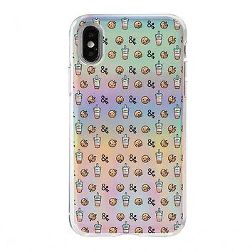 Holographic iPhone Case Cover - Milkyway Cases X Dough and Arrow