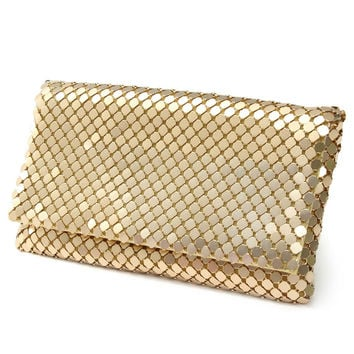 Sequined Pillow Clutches