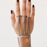 Chained Hand Bracelet