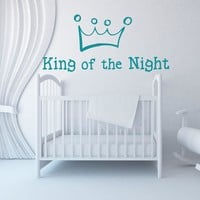 King of the Night Wall Decal