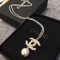Double C New Arrival 50cm Long Necklace