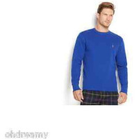 Polo Ralph Lauren Men'S Tipped Thermal Crew-Neck Shirt M Size
