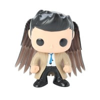 Funko Supernatural Pop! Television Castiel With Wings Vinyl Figure Hot Topic Exclusive