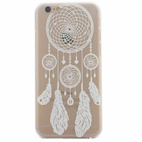 Hollow Out Lace Dreamcatcher Case Cover for iphone 5s 6 6s Plus + Gift Box 41