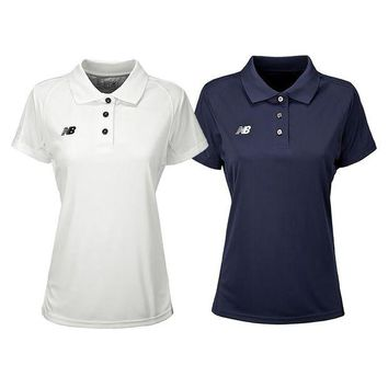 ONETOW new balance women s tech polo shirt 2 pack