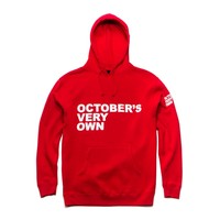 OVO Stacked Red Pullover Hoodie | October's Very Own