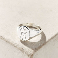 Wolf Circus Femme Signet Ring | Urban Outfitters