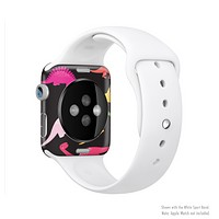 The Vector Neon Dinosaur Full-Body Skin Kit for the Apple Watch