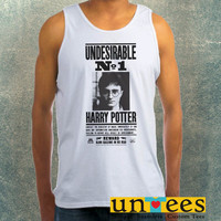 Undesirable Number 1 Harry Potter Clothing Tank Top For Mens