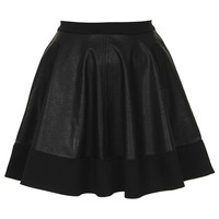 **PU Skater Skirt by Oh My Love - New In This Week  - New In