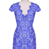 Mixia Lace Mini Dress