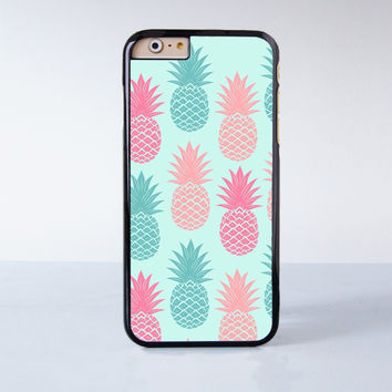 Pineapple Painting  Plastic Case Cover for Apple iPhone 4 4s 5 5s 5c 6 6s Plus