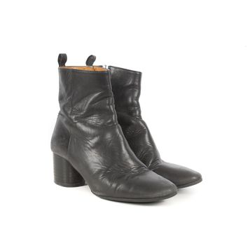 Isbael Marant Black Leather Boots