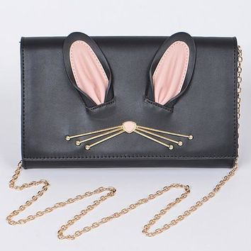 Lovely Rabbit Inspired Clutch
