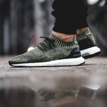 Adidas Ultra Boost Uncaged ¡®Tech Earth Olive¡¯ (Tmall ORIGINAL)