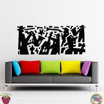 Wall Stickers Vinyl Decal Jazz Band Night Party Music Modern Decor Unique Gift (z1834)