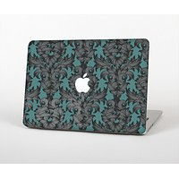The Teal Leaf Foliage Pattern Skin for the Apple MacBook Air 13""