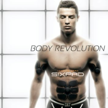 Sixpad Traning Gear Body ABS Fit Cristiano Ronaldo Six Pack Workout Fitness