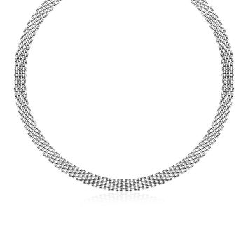 Panther Chain Necklace in Sterling Silver