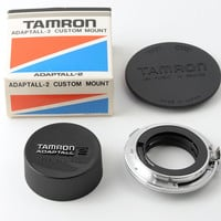 Tamron Adaptall 2 Olympus OM Custom Mount Boxed with Caps & Instructions VGC