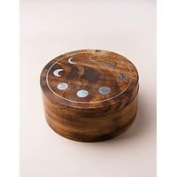 Fair Trade Moon Phase Pivot Box