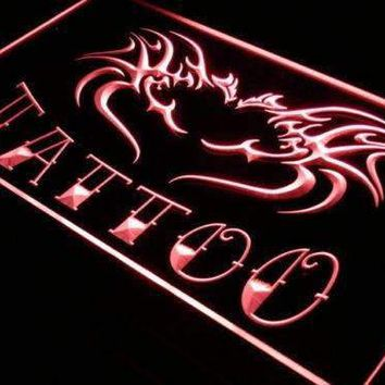 Tattoo Flying Dragon Neon Sign (LED)